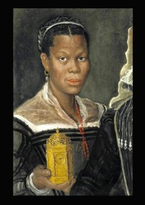 """Portrait of a Black Woman Slave"" at the Walters Art Gallery."