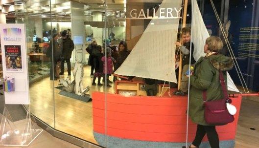 TD Ameritrade Gallery at Toronto Reference libary