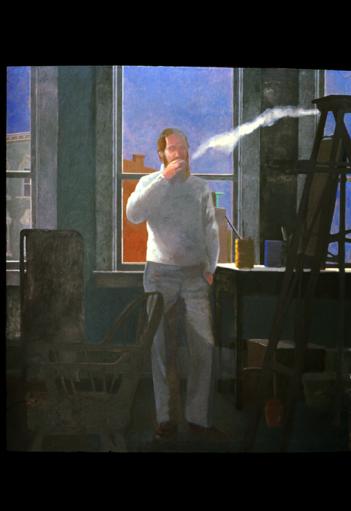 Eutaw Grey: oil on canvas